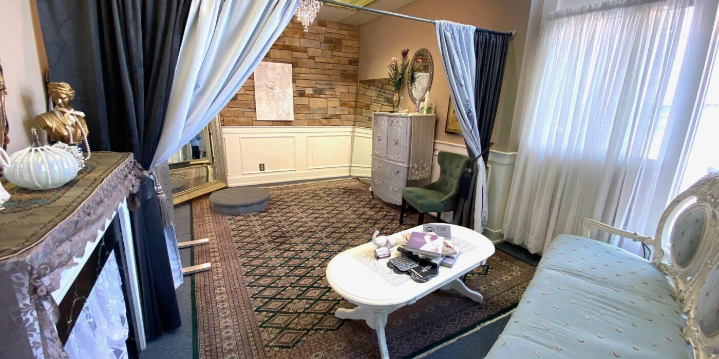 wedding shop dressing rooms