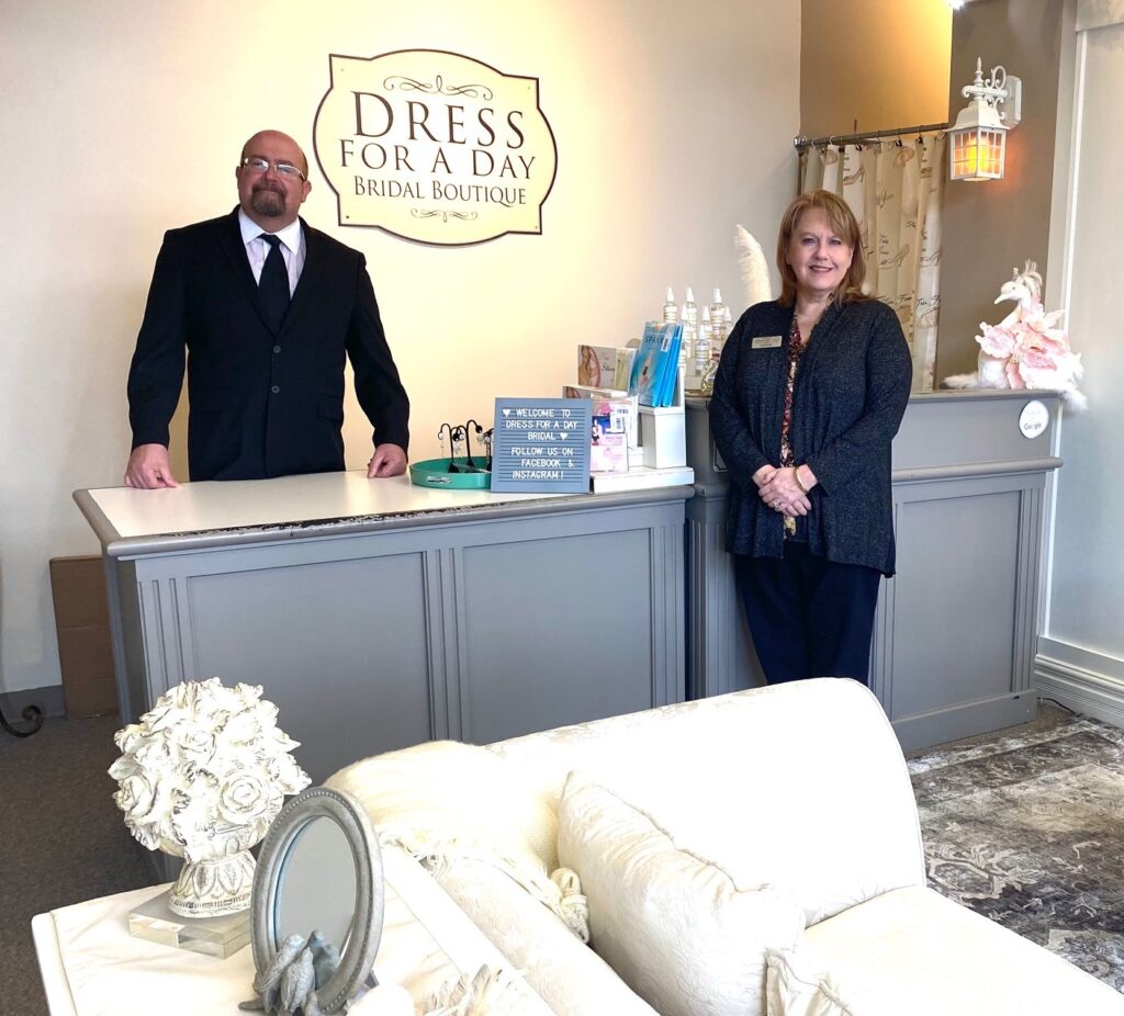bridal shop owners